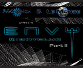 Pachanga and Le Monde Present Envy Nightclub Part II - created November 1999