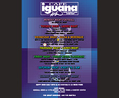 Cafe Iguana Weekly Schedule - created November 1999