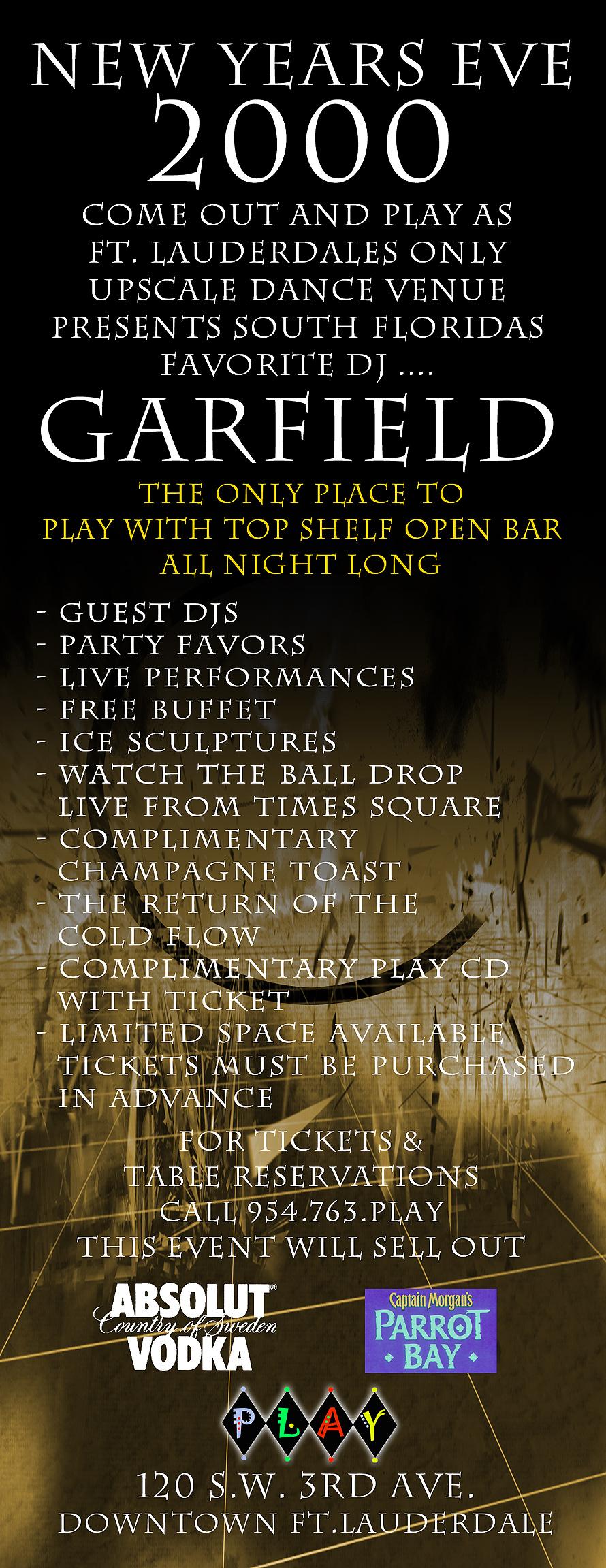 New Years Eve at Play Nightclub