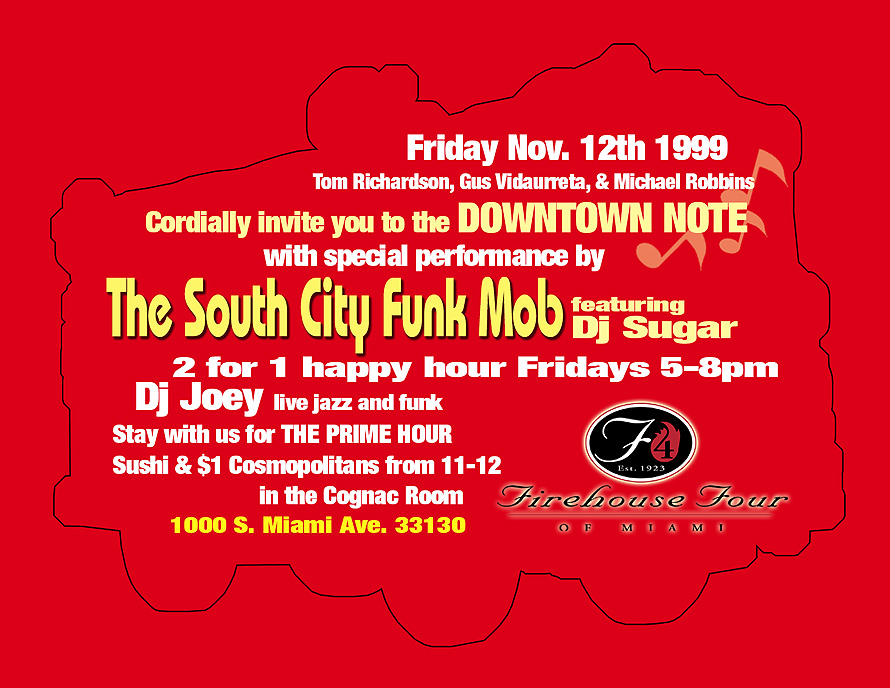 South City Funk Mob at Firehouse Four