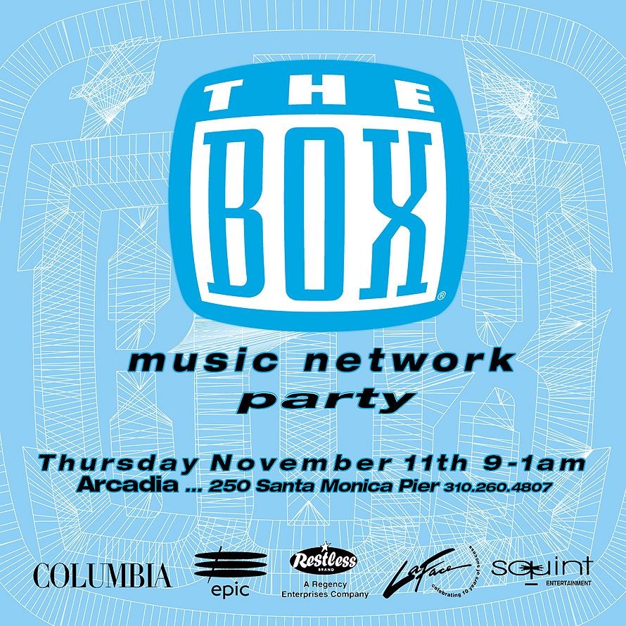 The Box Music Network Party at Arcadia