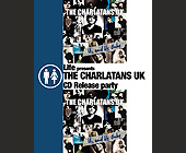 The Charlatans CD Release Party at MEZA - 1131x1463 graphic design