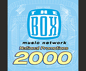 The Box Music Network National Promotions - tagged with 4.75 x 4.75