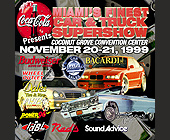 Miami Finest Car and Truck Supershow - 1375x1375 graphic design