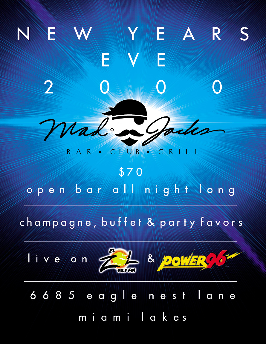 New Years Eve 2000 at Mad Jacks
