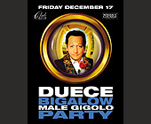Duece Bigalow Male Gigolo Party at Club 609 - tagged with table reservations