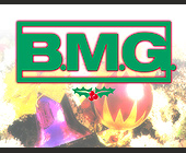 BMG Christmas Party - 1131x1463 graphic design