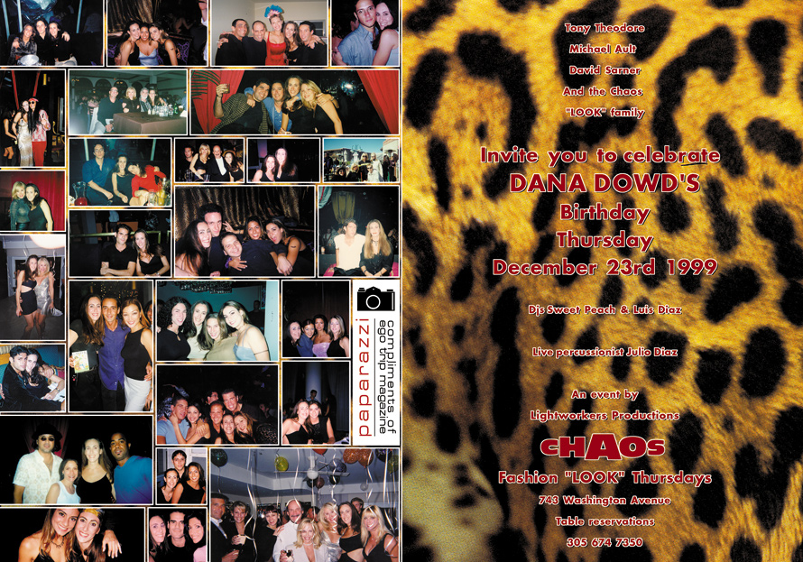 Look International at Chaos Nightclub