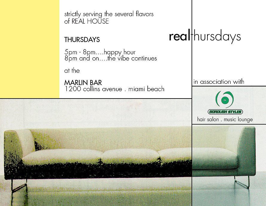 Real Thursdays at Marlin Bar in Miami Beach