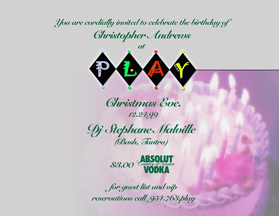 Christmas Eve at Play Nightclub