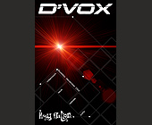 D'Vox at Club 609 and Whisky Lounge - tagged with radamas