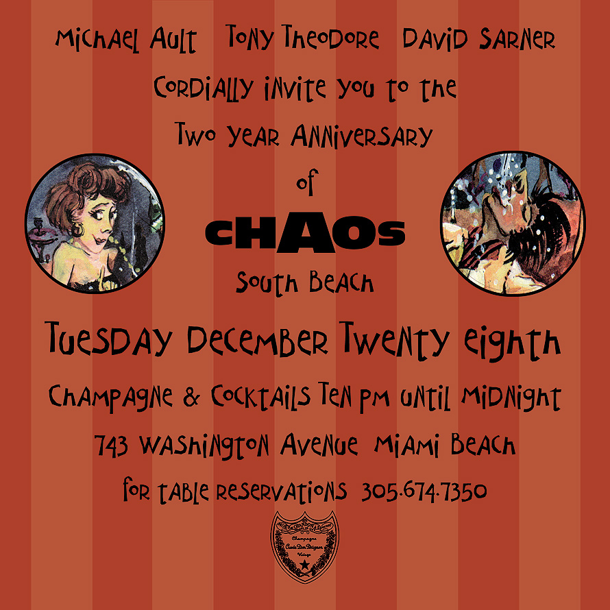 Two Year Anniversary at Chaos