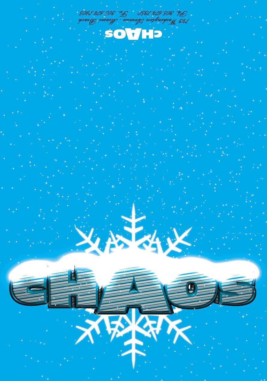Club Chaos Greeting Card