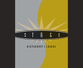 Stage Restaurant and Lounge Promo - 1131x1463 graphic design