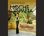 Noche Hispana Wednesday at Cafe Iguana Kendall - tagged with el zol 95 logo