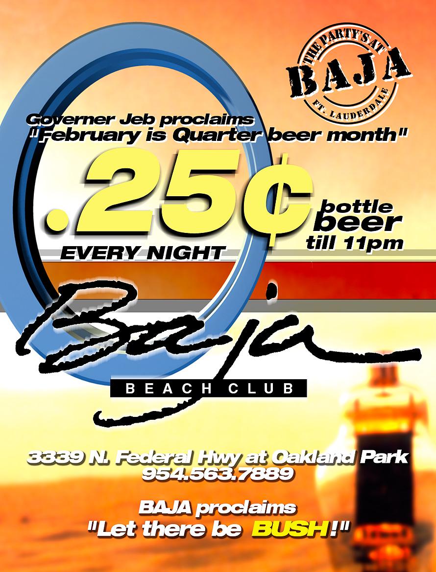 Red Hot Ladies Night at Baja Beach Club