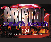 Cristal South Beach Dance Contest - tagged with 000 grand prize