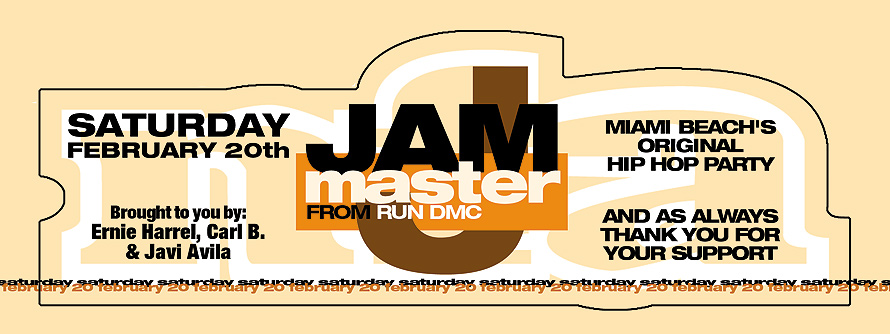 Jam Master J at Warsaw