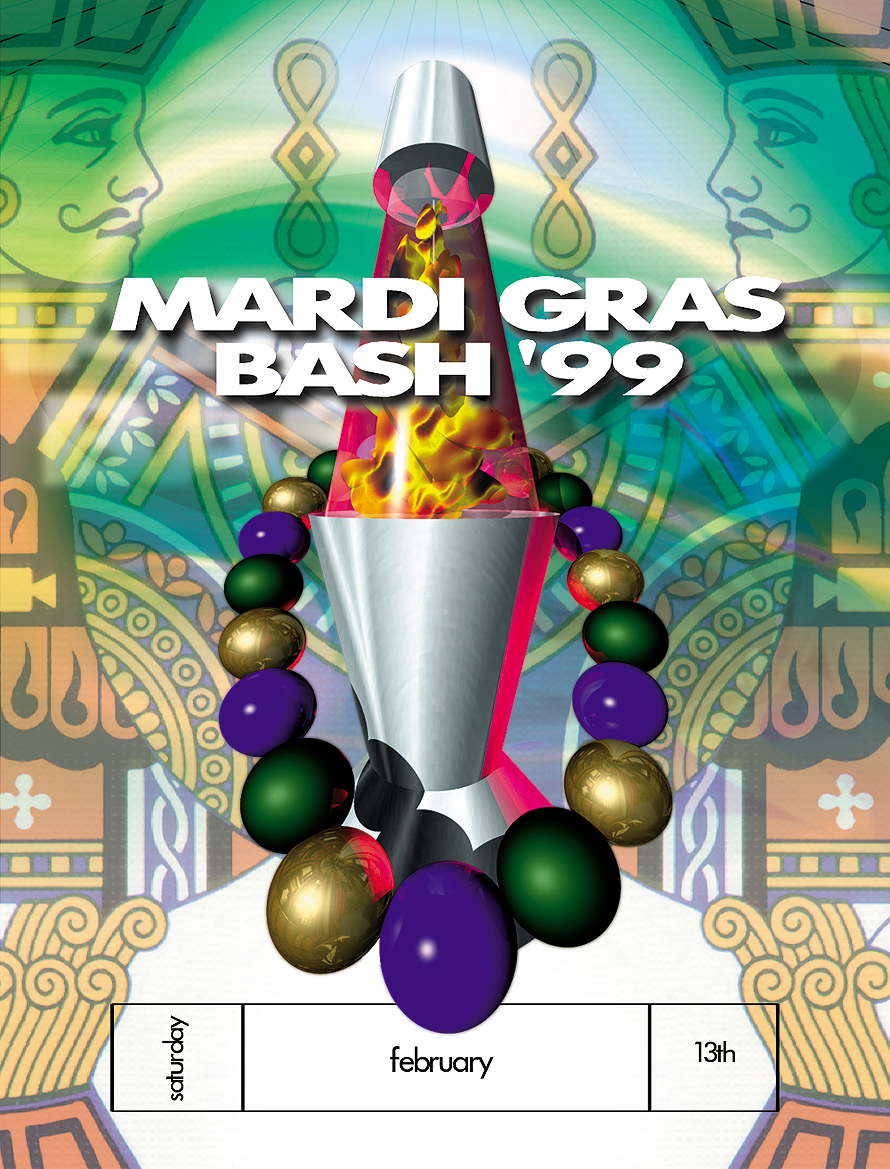 Emerald City Mardi Gras Bash