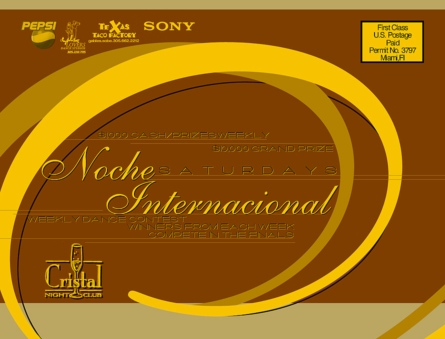Noche Internacional at Cristal Nightclub
