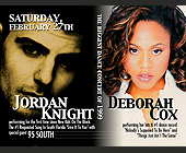 Jordan Knight and Deborah Cox at Club Cameo - tagged with cameo