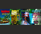 Cafe Iguana Spring Break Schedule - 1000x2625 graphic design