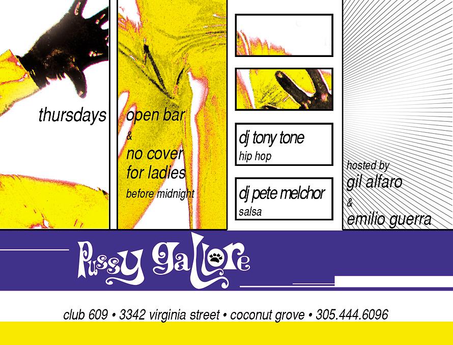Pussy Gallore Thursdays