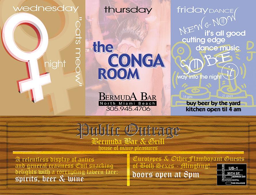 The Conga Room at Bermuda Bar