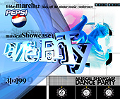 Musical Showcase Dance Party at Milander Auditorium - 1625x1375 graphic design