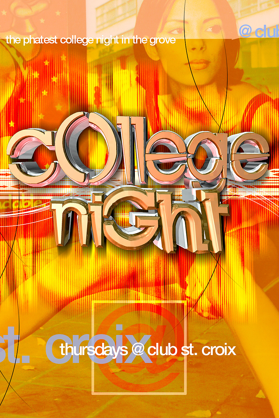 College Night at Club St. Croix
