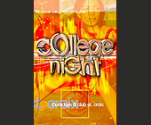 College Night at Club St. Croix - Voodoo Lounge Graphic Designs
