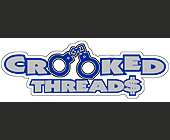 Crooked Threads - 2793x1047 graphic design
