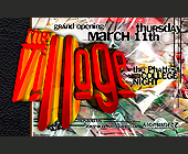 Nightbreederz Presents The Village - Voodoo Lounge Graphic Designs