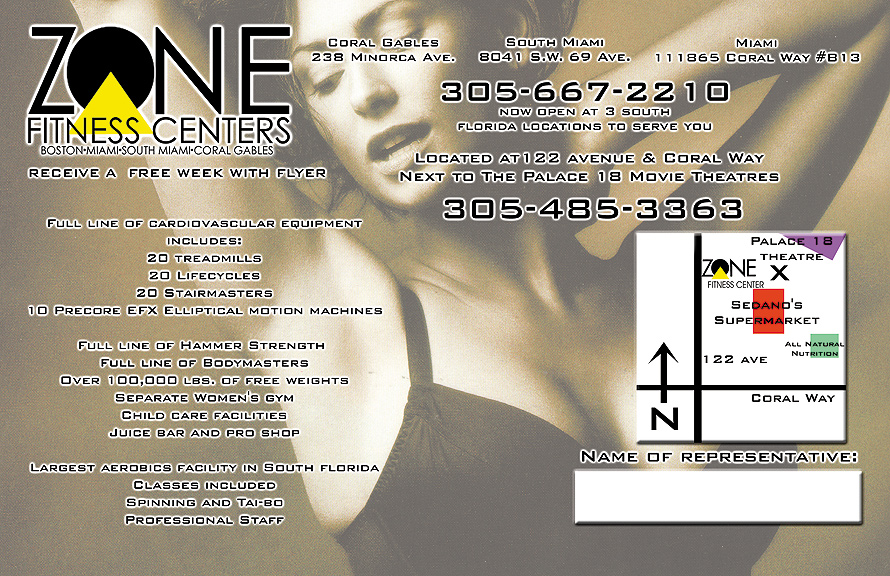 Zone Fitness Centers