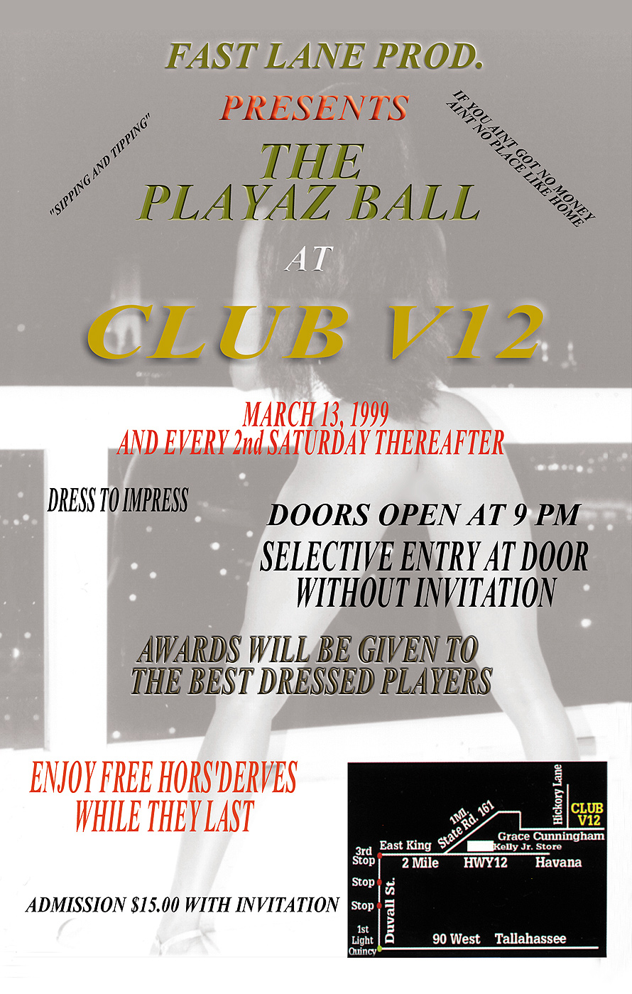 The Players Ball at Club V12