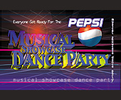 Musical Showcase Dance Party Coming Soon - tagged with glare