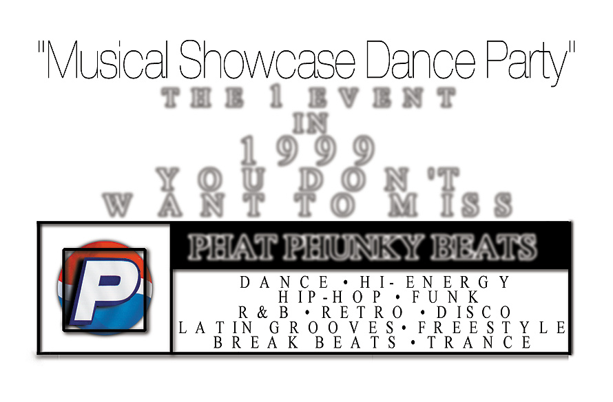 Phat Phunky Beats Musical Showcase Dance Party