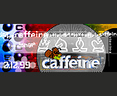 Caffeine at Cristal Nightclub - 1050x2550 graphic design