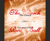 The Church Red Ball at Groove Jet - 1125x1125 graphic design