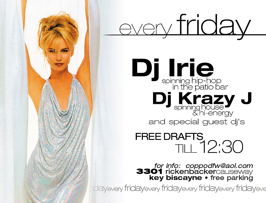 Every Friday at South Fork Grill Bar