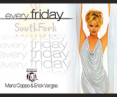 Every Friday at South Fork Grill Bar - tagged with dj krazy j