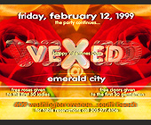 Vexed at Emerald City - tagged with reduced admission