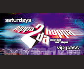Saturdays Hippa to the Hoppa VIP Pass - 1200x600 graphic design
