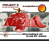 College Night at Club St Croix - tagged with club st