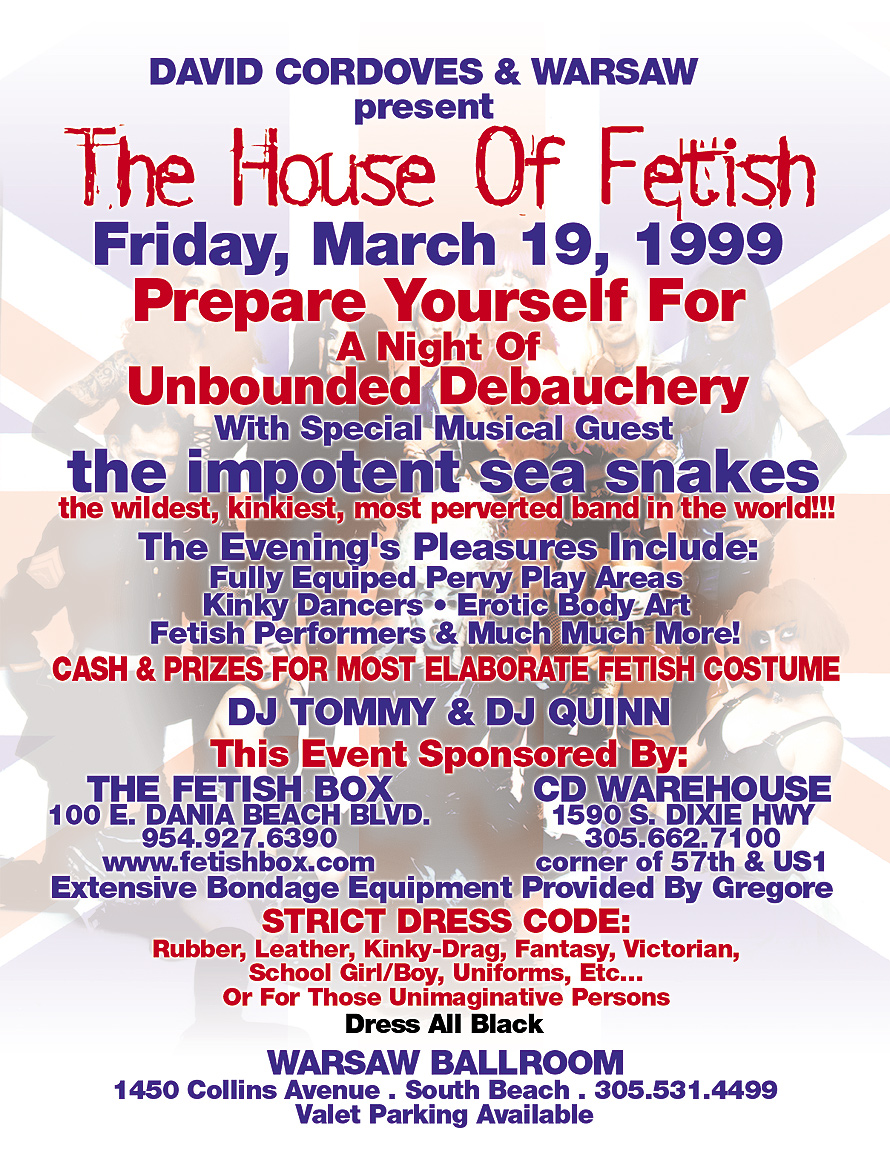 The London Ballroom Presents The House of Fetish