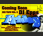 DJ Epps Mix Tape Volume 2 - Music Graphic Designs