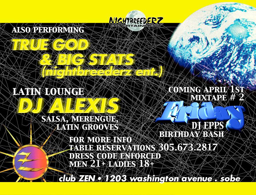 Black Moon at Club Zen