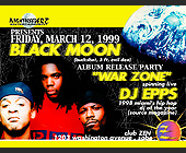 Black Moon at Club Zen - 1200x1575 graphic design