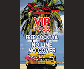 Baja Beach Club VIP Pass - created March 10, 1999