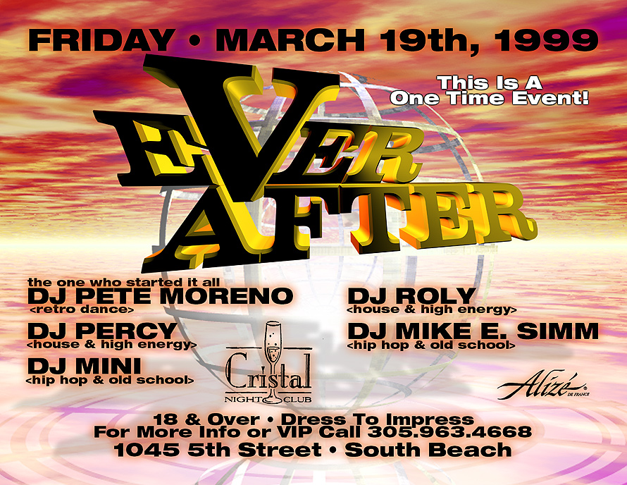 Ever After at Club Cristal